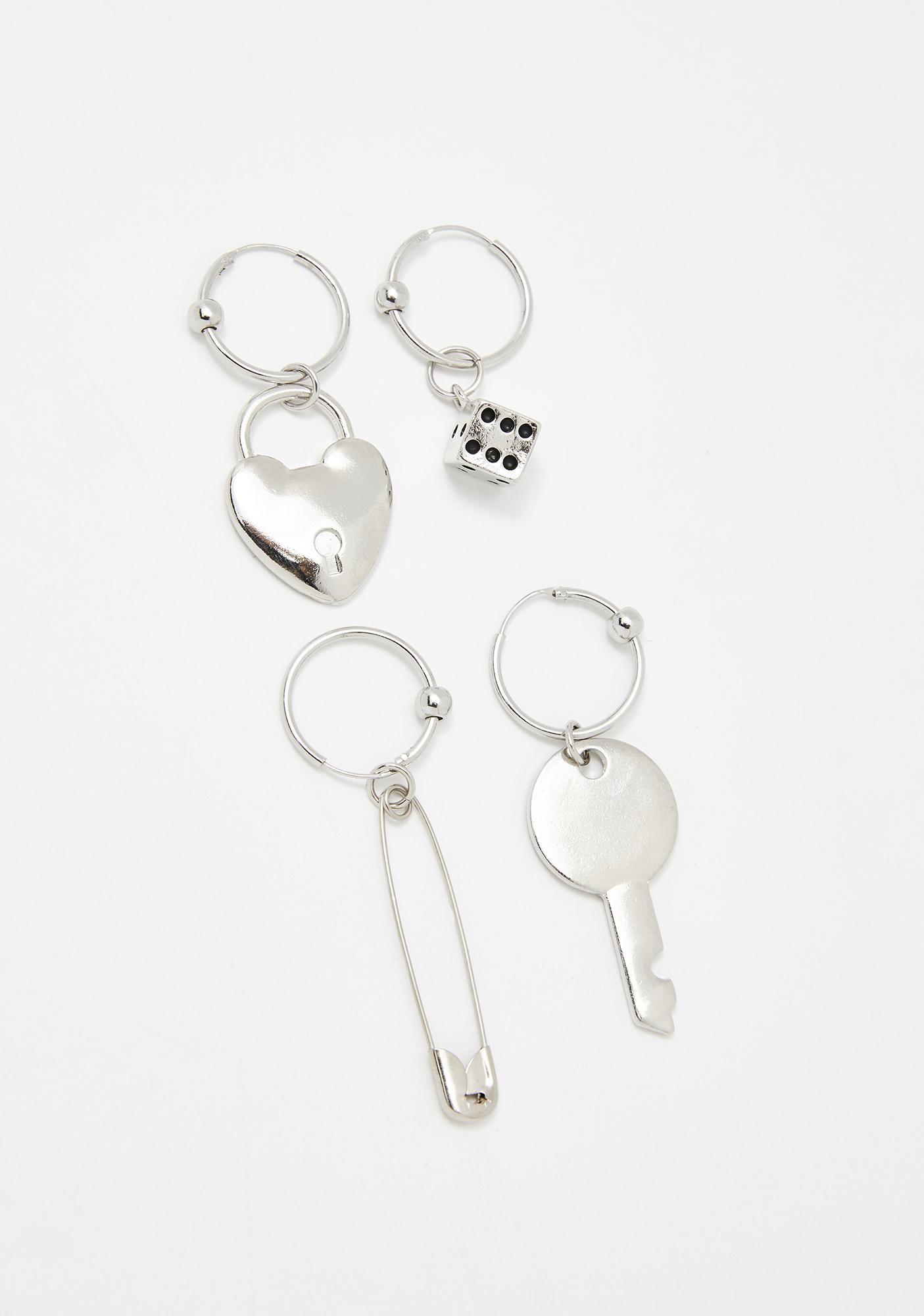 Lost Trinkets Earrings Set