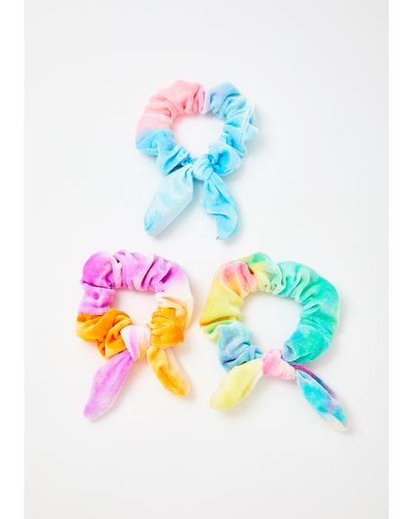 Candy Sweet Dreamz Scrunchies Set