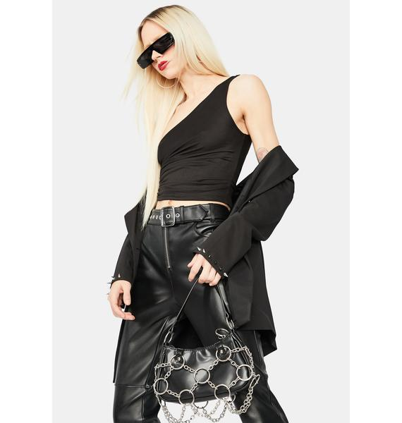 Onyx How Will I Know Crop Top
