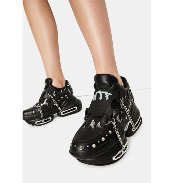 Big Rush Chain Platform Sneakers