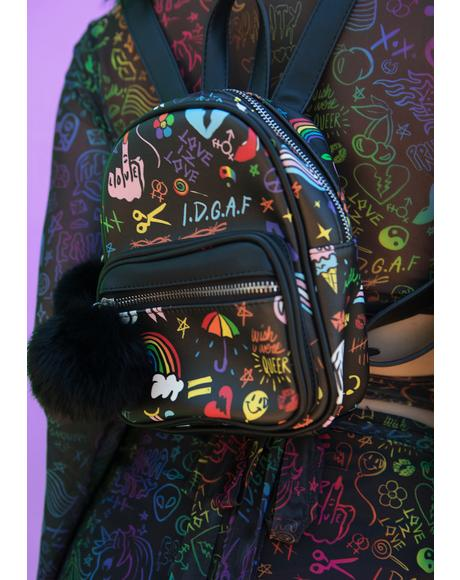 Show Ur Pride Mini Backpack