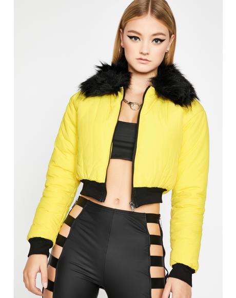 Severe Shine Puffer Jacket