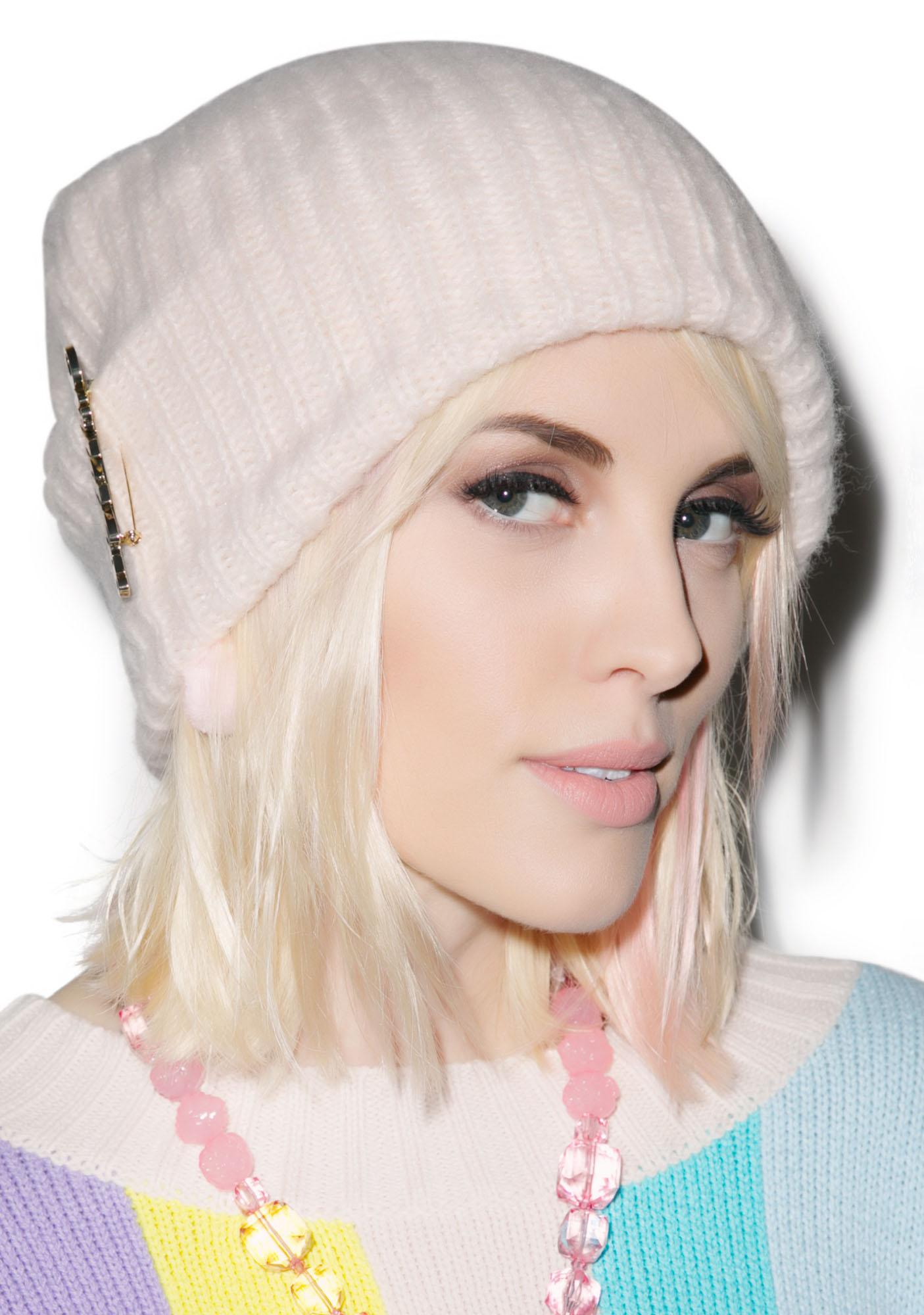 Wildfox Couture Loose Rib Beanie