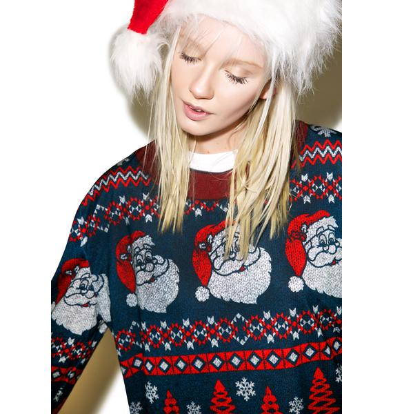Yer Man Santa Sweater Tee