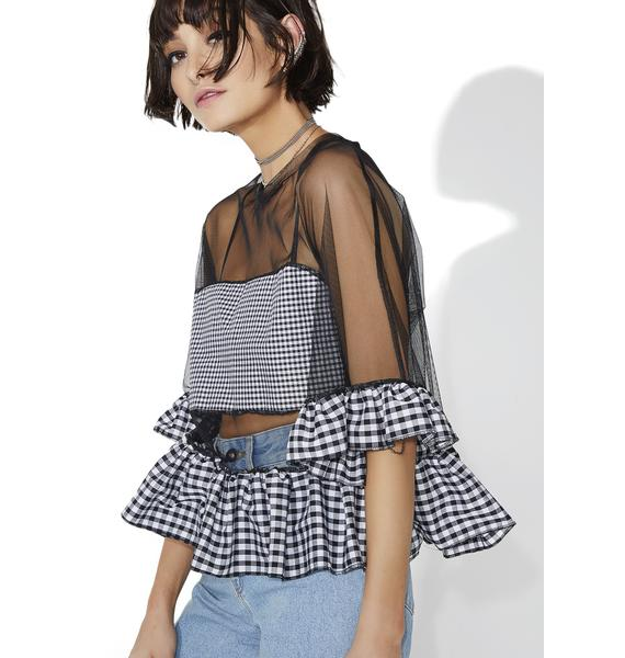 The Ragged Priest Courtney Top
