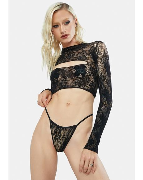 Talk About Toxic Lace Lingerie Set