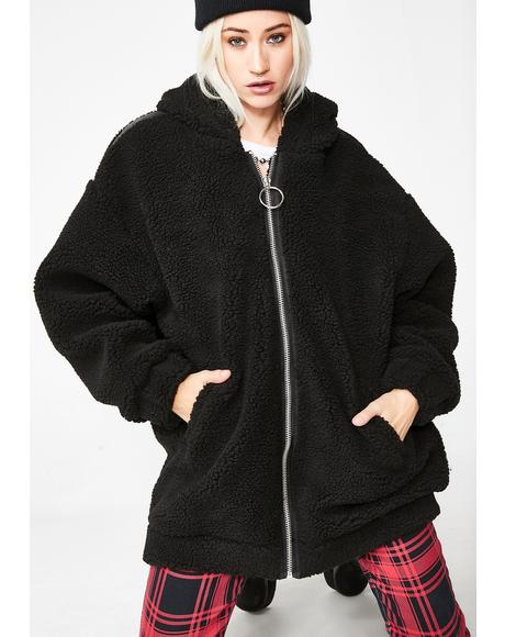 So Over It Hooded Jacket