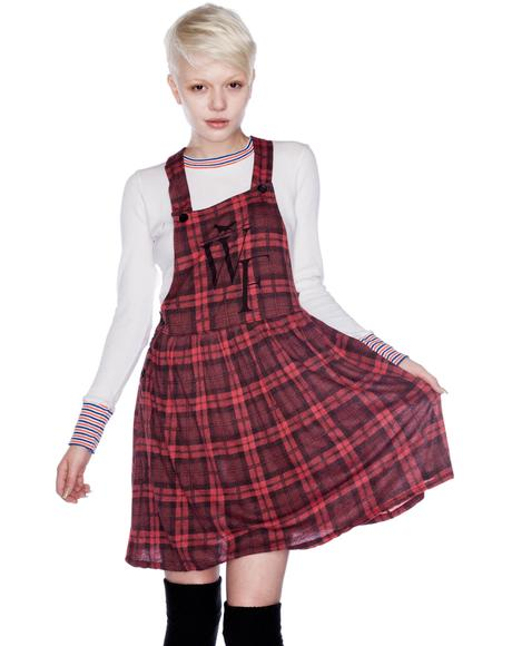 Reality Bites Pinafore Dress