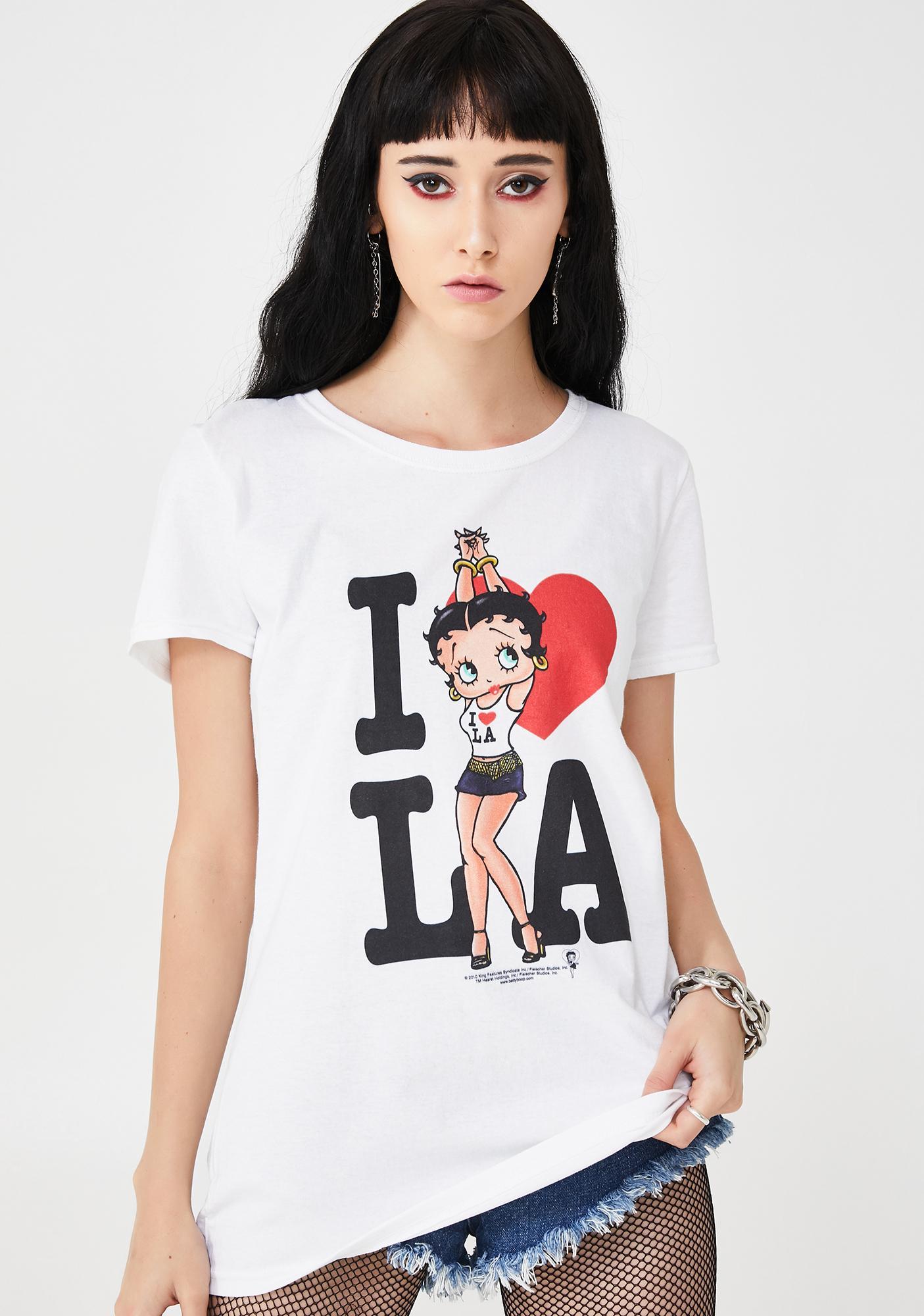 Betty Loves LA Graphic Tee