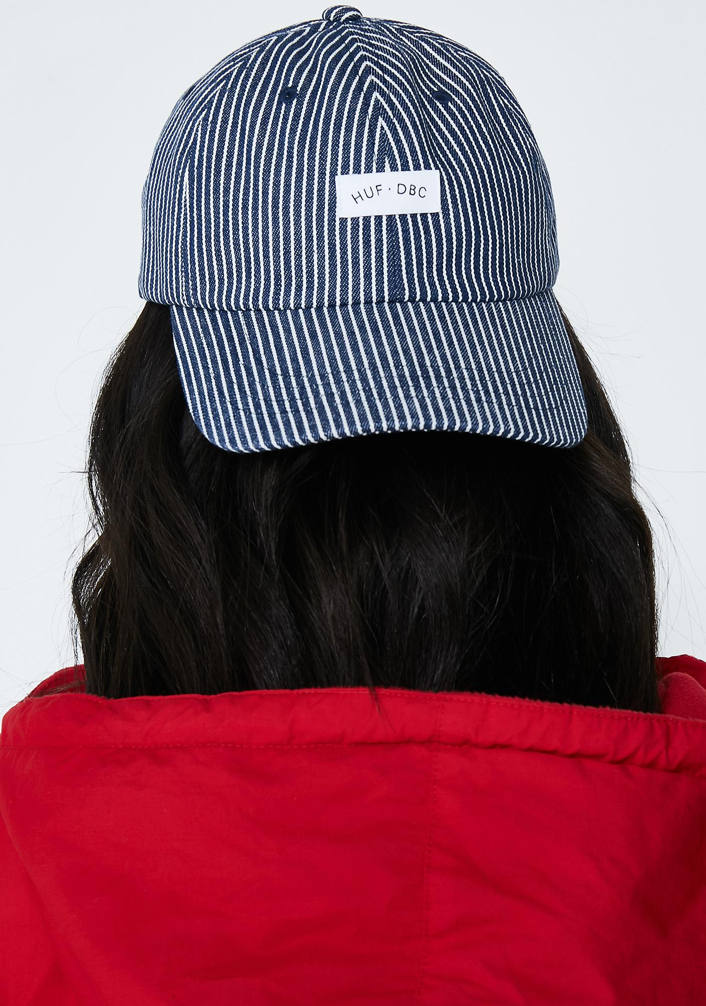 HUF Hickory Curve Visor 6 Panel Hat