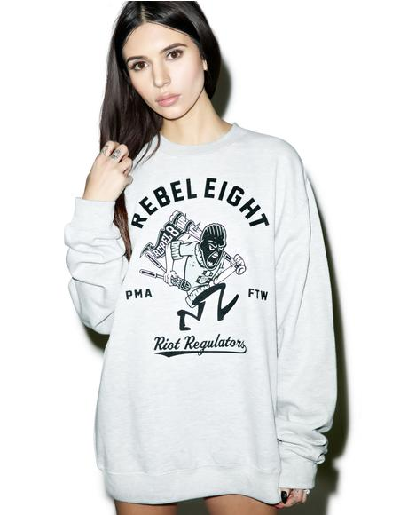 Riot Regulators Crewneck