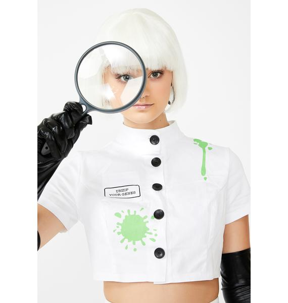 Dolls Kill Slut For Science Costume Set