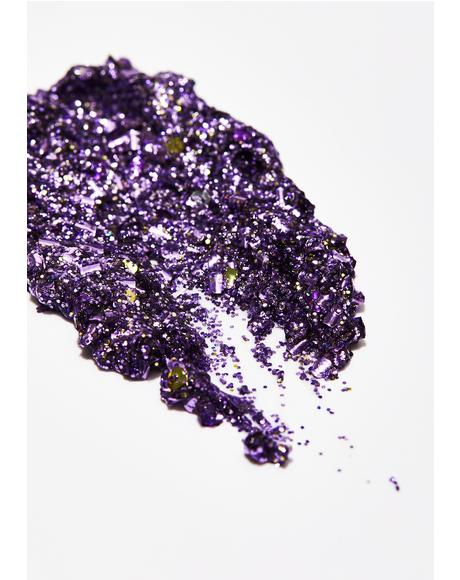 Purple Biodegradable Glitter Gel