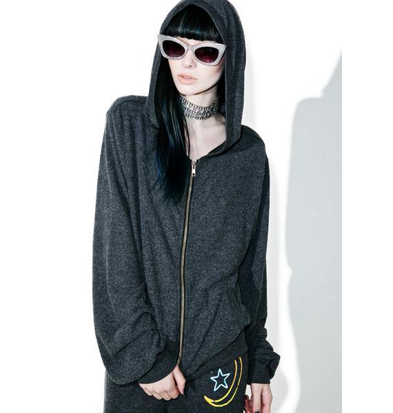 Wildfox Couture Stay High Malibu Zip Up