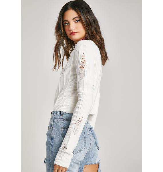 Oh Brother Distressed Sweater