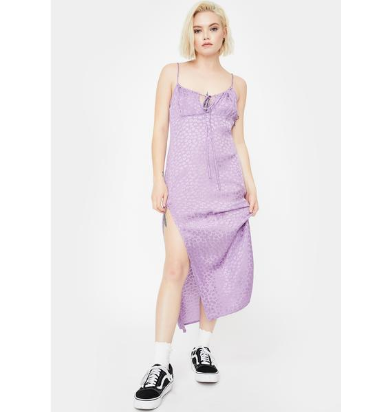 Motel Lavender Cypress Midi Dress