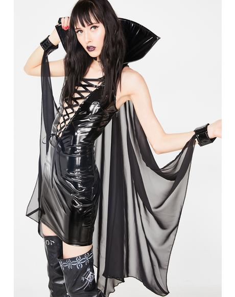 Vampiress Of Seduction Costume Set
