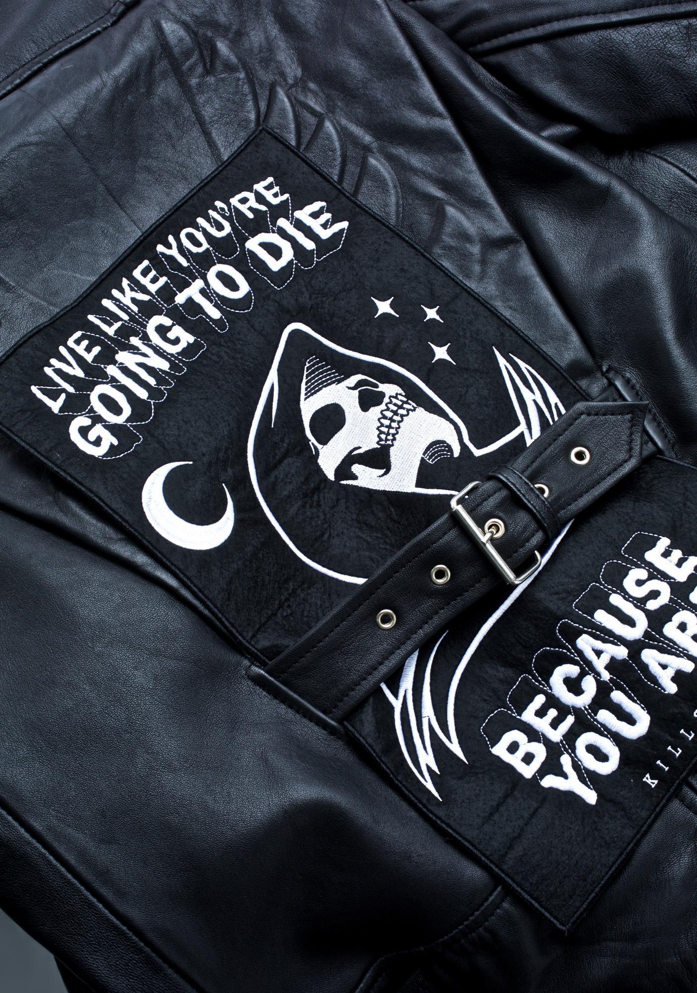 Killstar Certain Death Backpatch