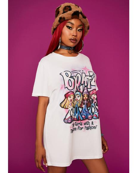 Bratz Pack Graphic Tee