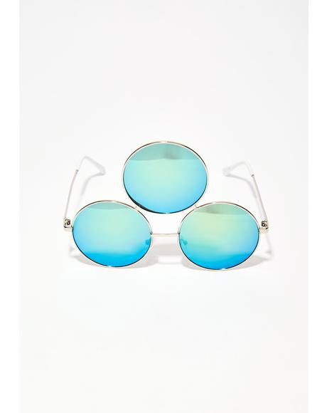 Green Fairy 3rd Eye Sunglasses