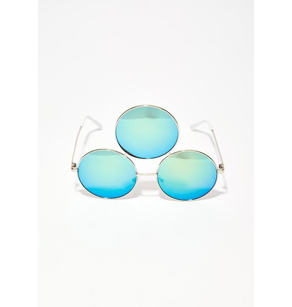 Eye Eye Eye Green Fairy 3rd Eye Sunglasses