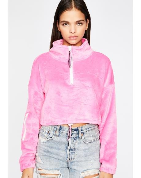 Candy Easy Goin' Crop Pullover