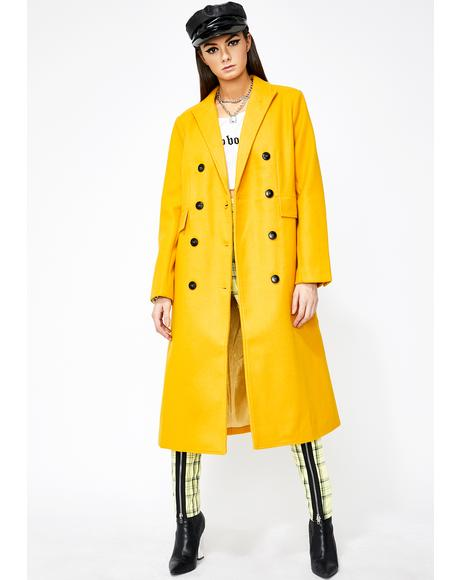 Mobbed Up Longline Coat