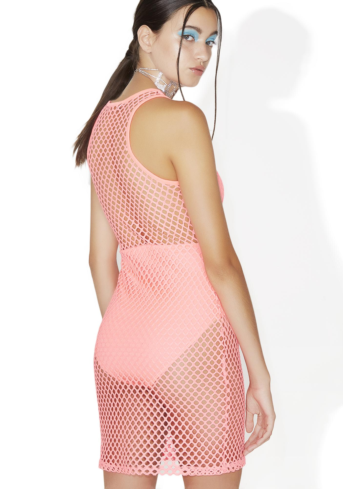 Sweet N' Sour Mesh Dress