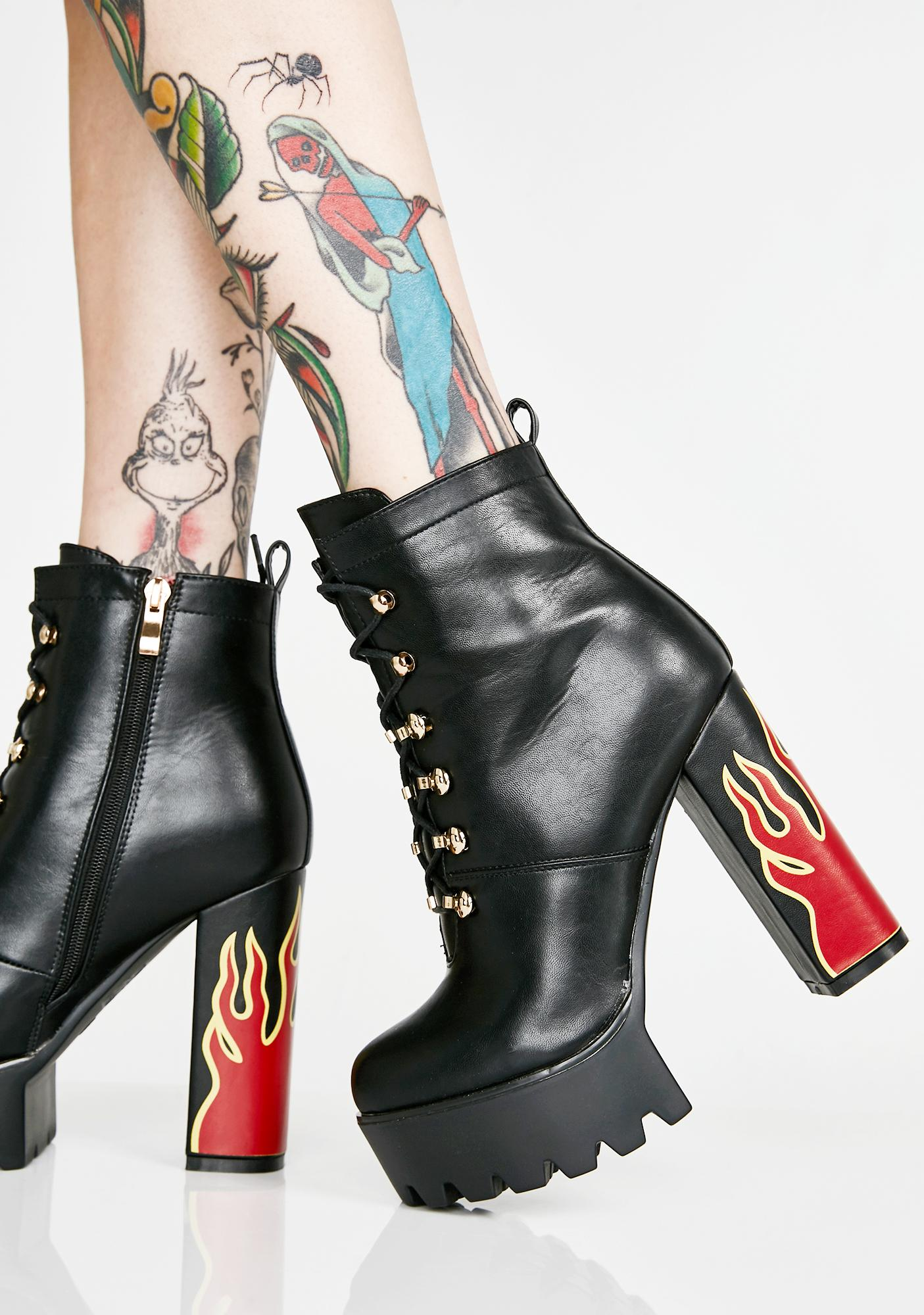 Lamoda Hustler Platform Boots