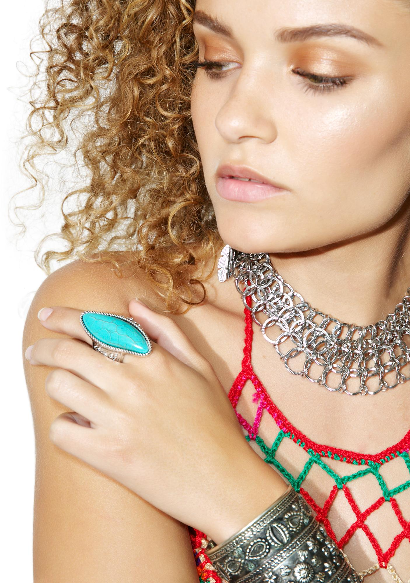 Desert Goddess Turquoise Ring