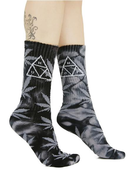 Onyx Smoke 420 Triple Triangle Socks