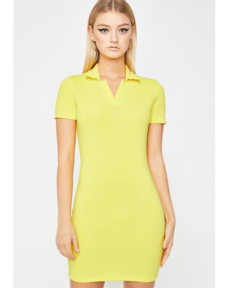 Sunny Not Regular Polo Dress