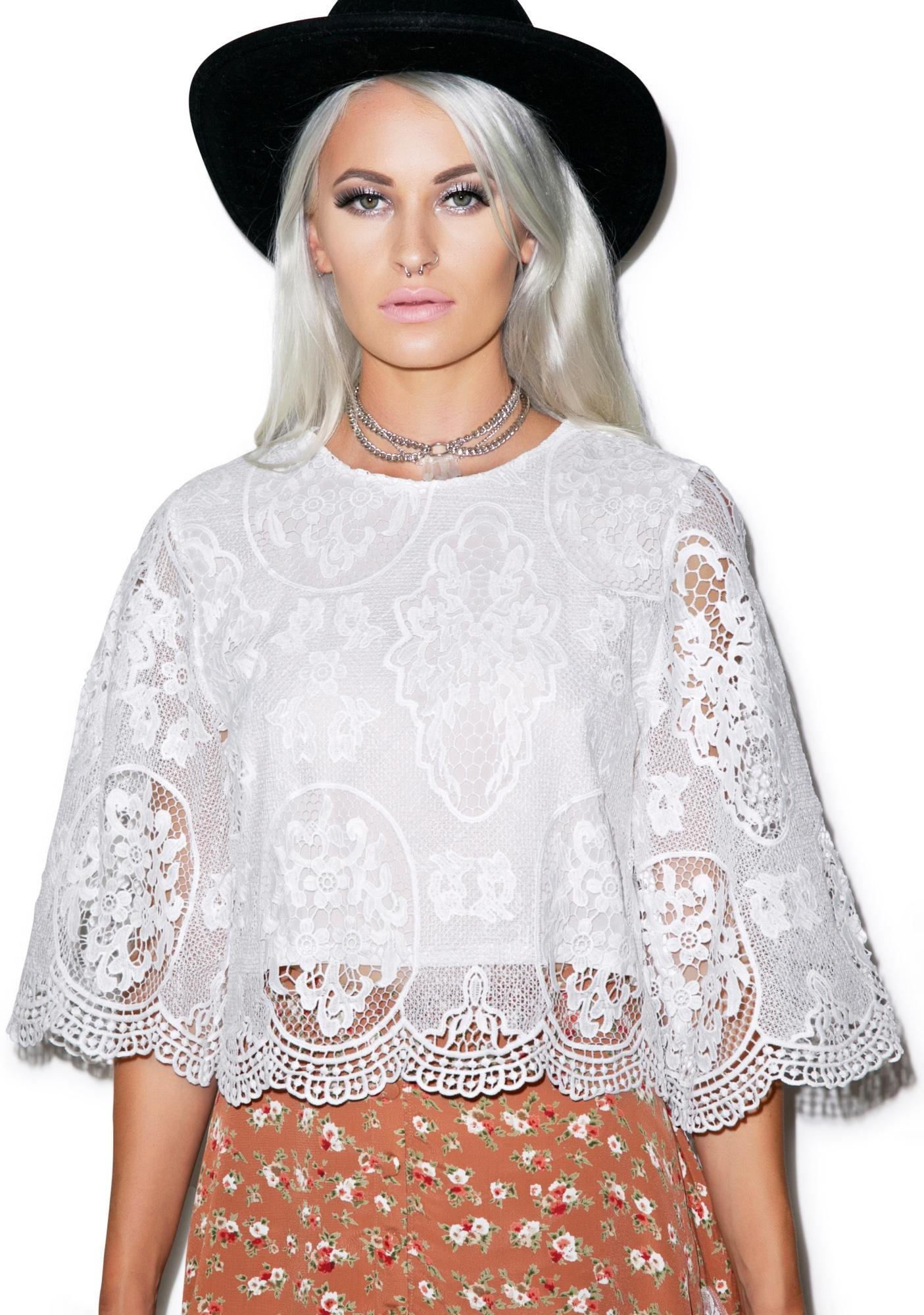 Any Time, Any Lace Top