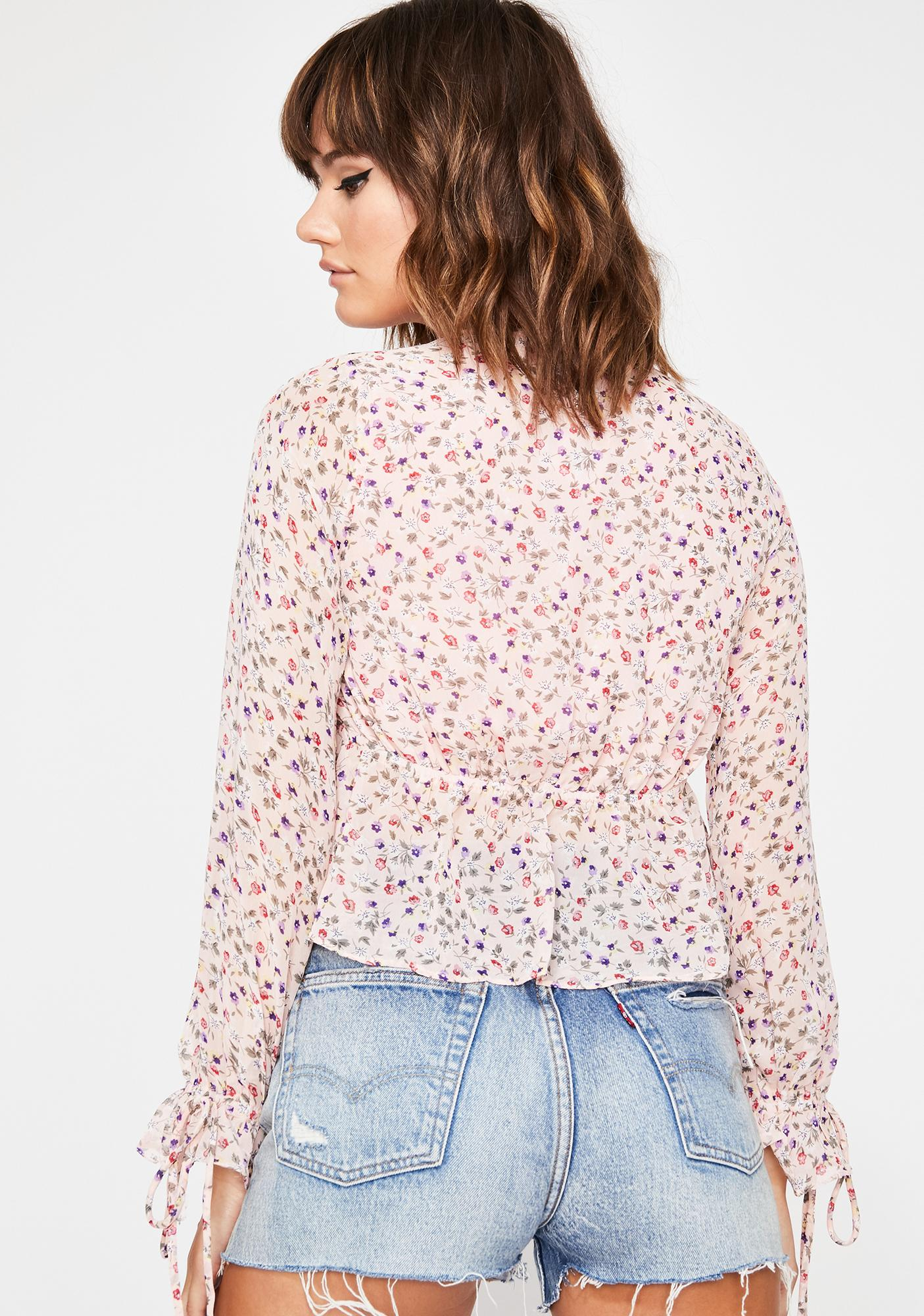 My Babydoll Floral Blouse