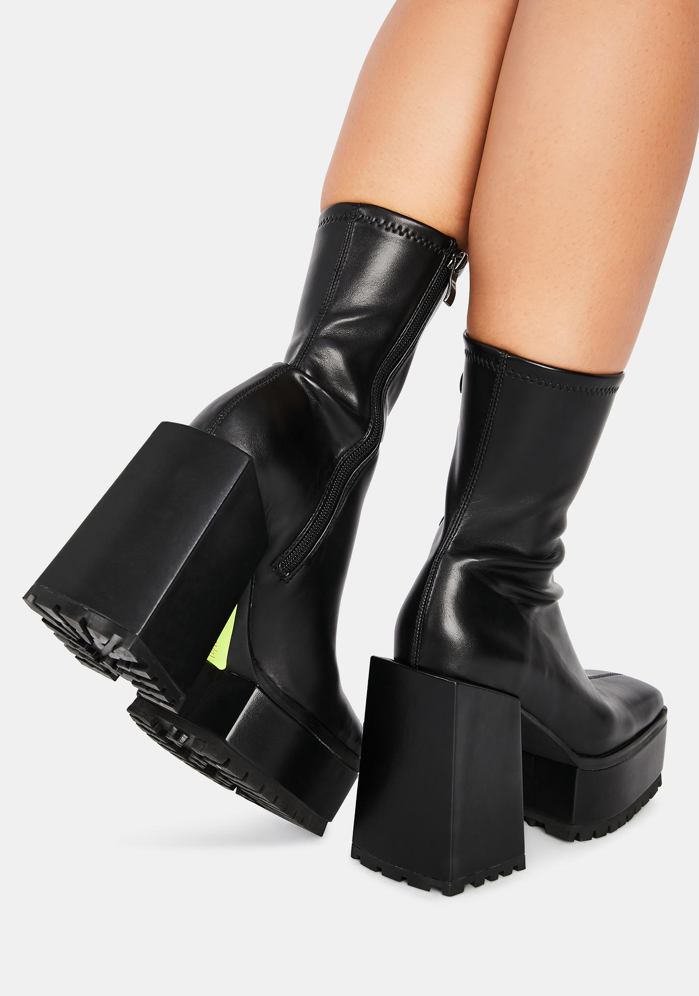 Poster Grl Disappearing Act Platform Boots