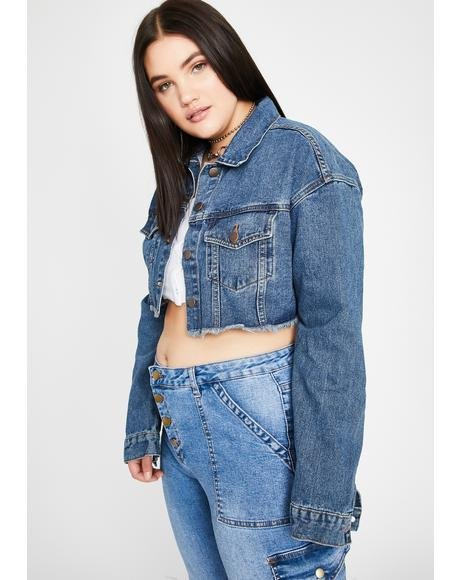 Way Above The Law Denim Jacket
