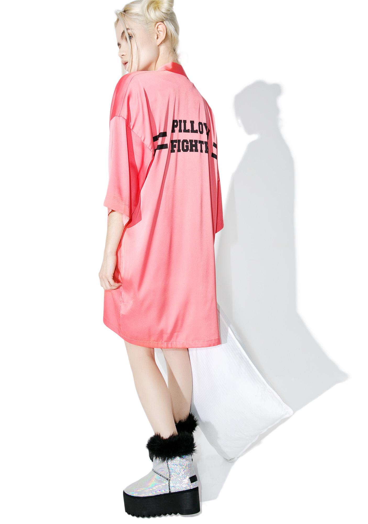 Mink Pink Pillow Fighter Robe
