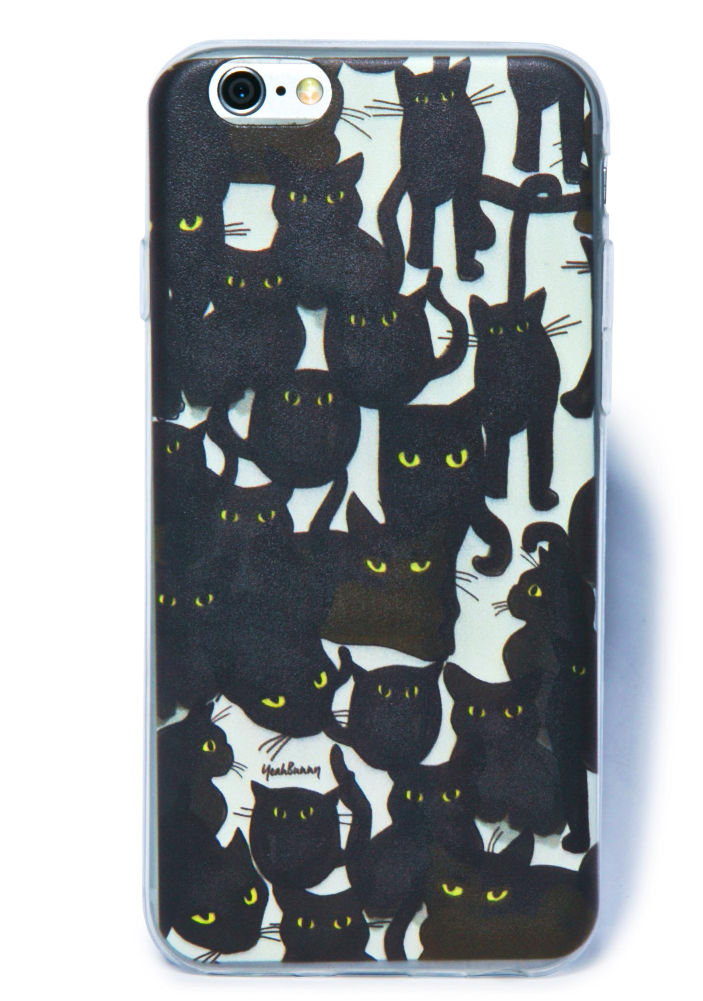 Yeah Bunny Cats Attack iPhone 6 Case