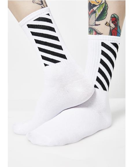 Fall In Line Socks