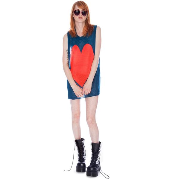Wildfox Couture Bianca Jagger Trailer Tank