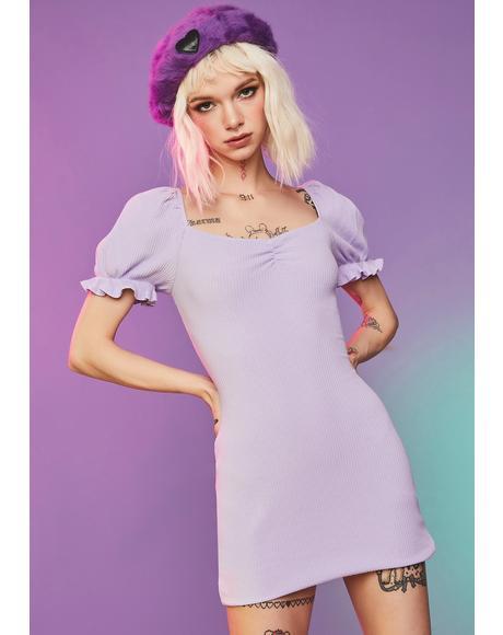 Lilac You're A Wildcard Mini Dress