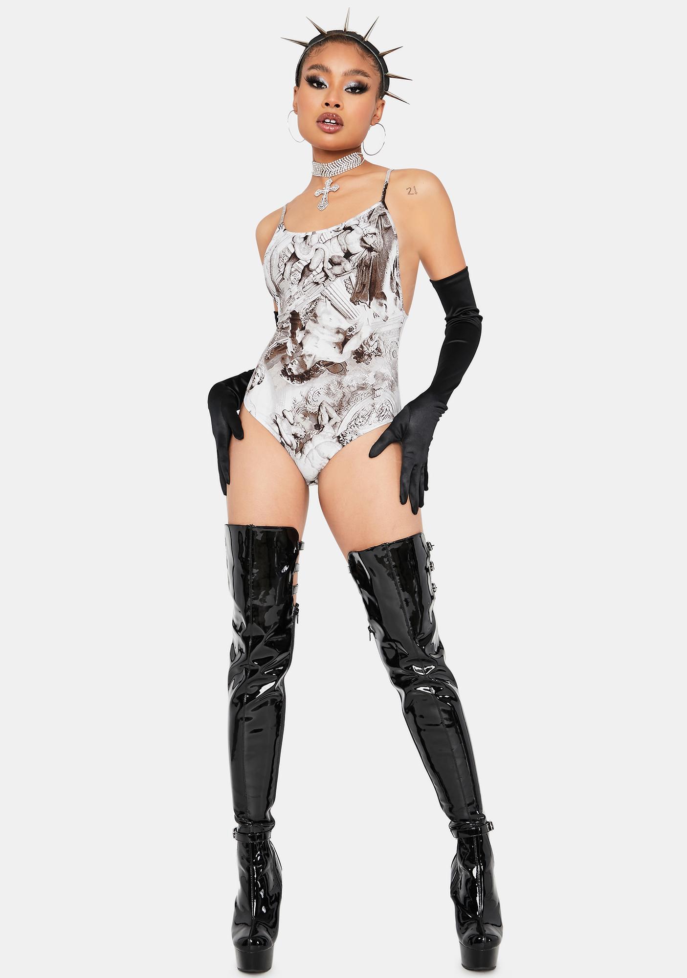 Chiseled Charm Cami Bodysuit