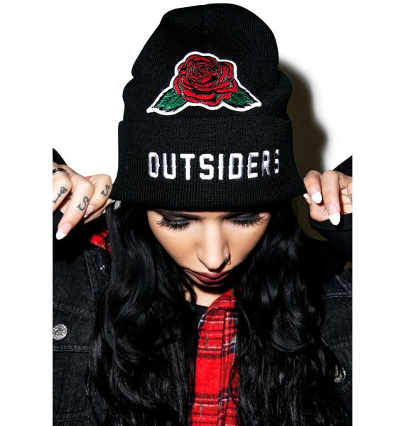 Petals and Peacocks Outsiders Beanie