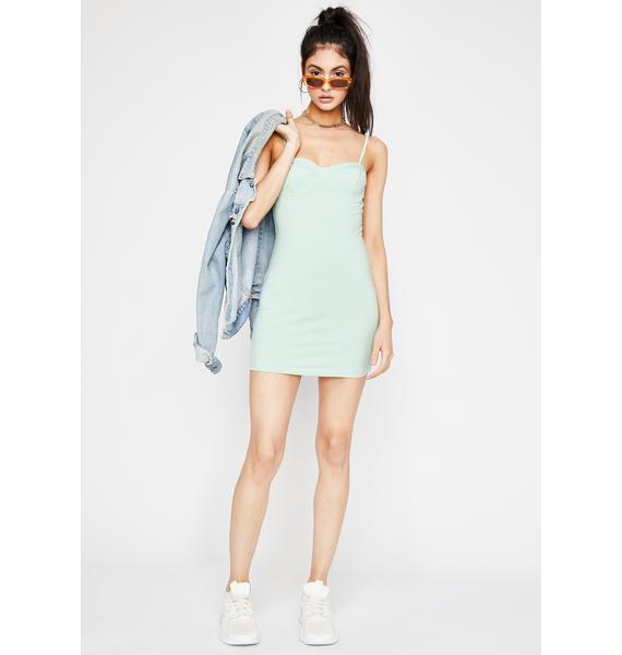 Mint Condition Mini Dress