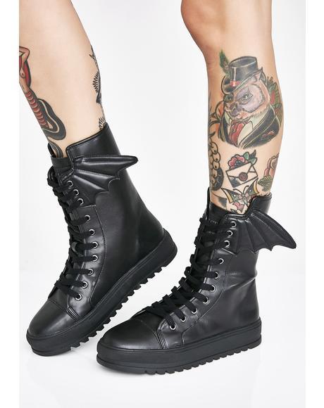 Fang High Top Sneakers