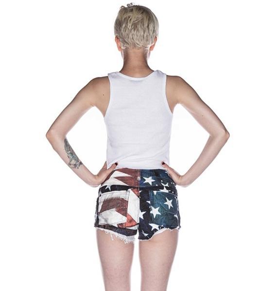 Ksubi Alberceque Cut Off Shorts