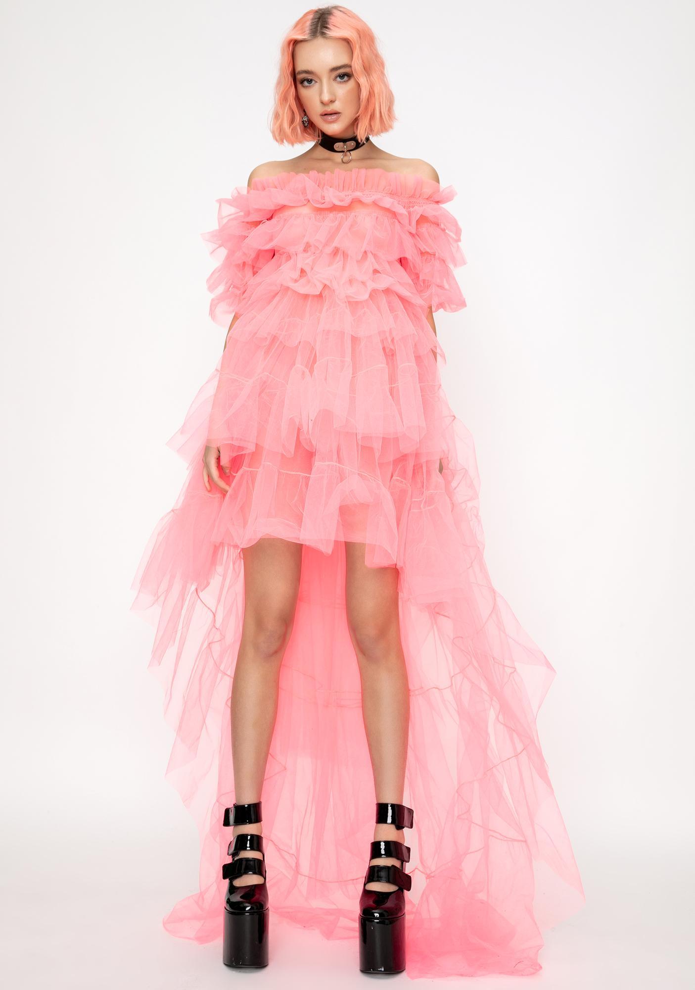 Kiki Riki Cotton Candy Princess Tulle Dress