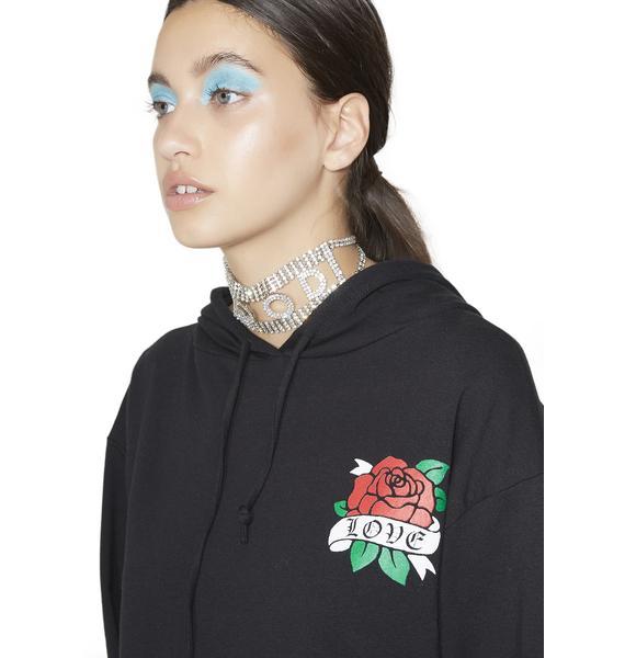 Verona Rose Hoodie