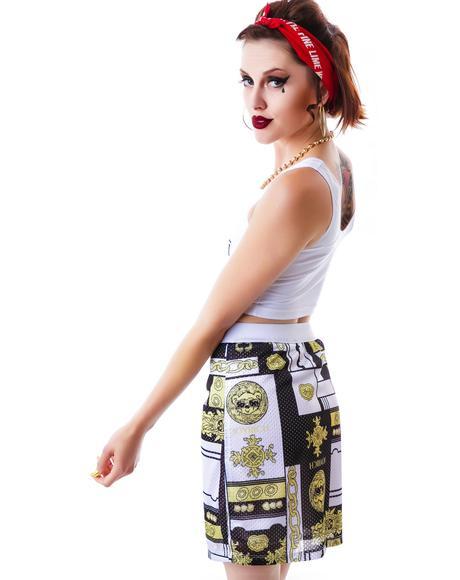 Duo Versatile Mesh Skirt