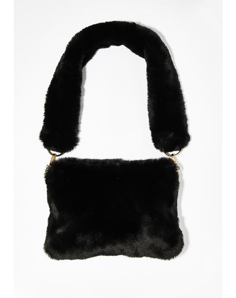 Dazzling Lady Faux Fur Bag